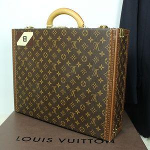 LOUIS VUITTON President Classeur Briefcase Mens